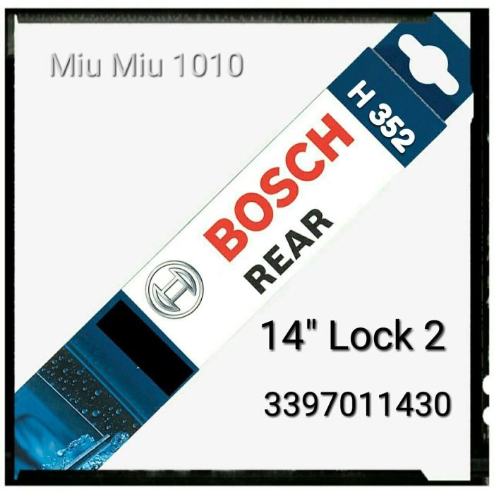 harga Wiper belakang / rear wiper bosch h352 14  lock 2 - 3397011430 Tokopedia.com