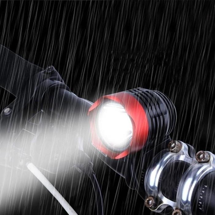 harga Lampu depan sepeda bike cree xm-l t6 led power bank powerbank usb Tokopedia.com