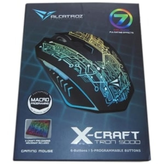Powerlogic Gaming Mouse X Craft Z8000 Noiz Hitam Mouse Pad Spec Source · Macro Gaming Mouse
