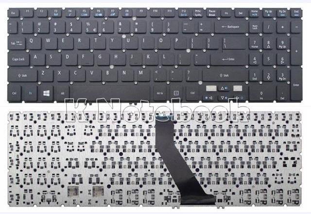 Laptop Keyboard for Acer Aspire V5-552 V5-552G V5-552P V5-552PG V5-572 V5-572G V5-572P V5-572PG V5-573 V5-573G V5-573P V5-573PG Black NO Frame Turkey TR