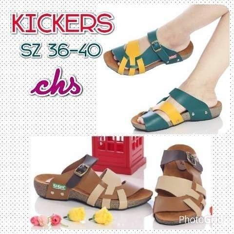 Jual GROSIR sepatu sandal kickers wanita woman grade ori 4 wanita ... c5165d9124