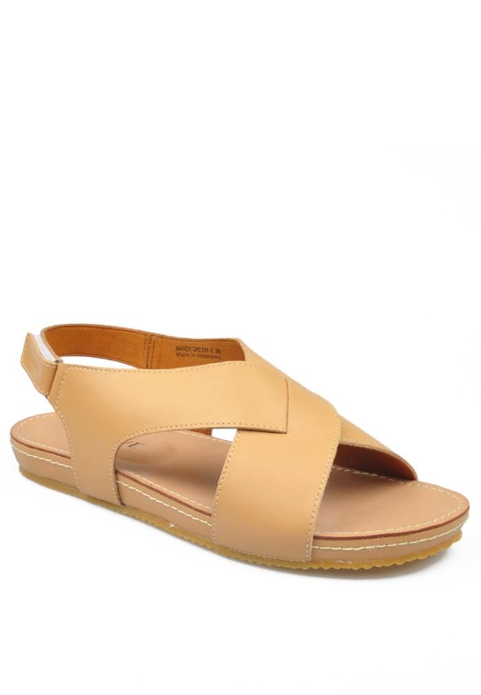 harga Mandy - camel - beajove comfort sandal wedges (flash sale) - cokelat muda 36 Tokopedia.com