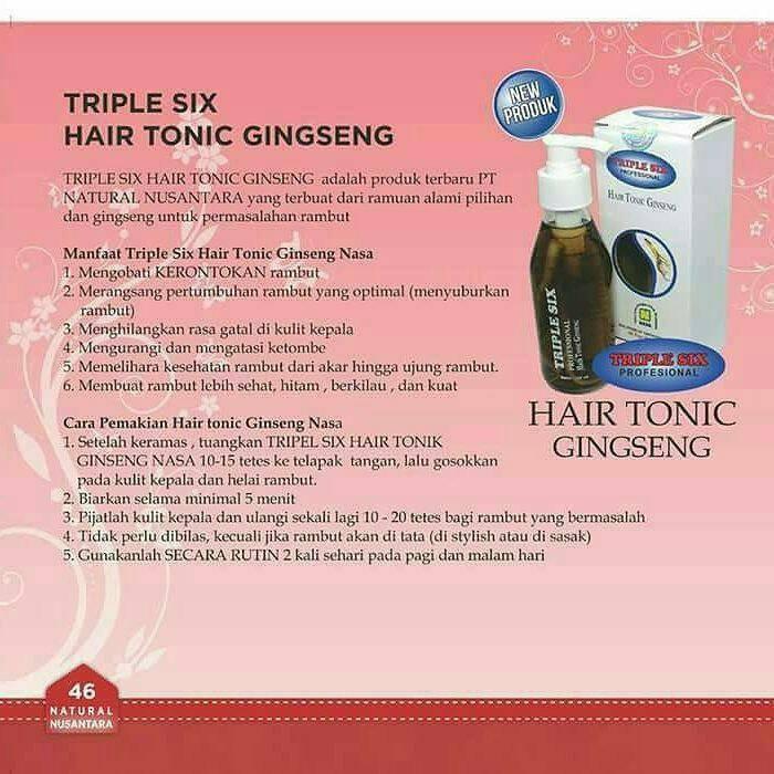 Hasil gambar untuk Hair Tonic Ginseng nasa