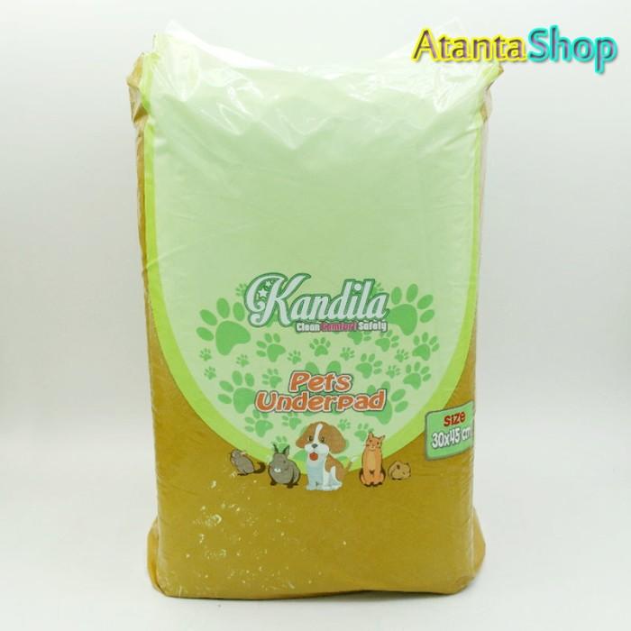 harga Kandila - pets underpad 30x45cm pet sheet / alas tilam Tokopedia.com
