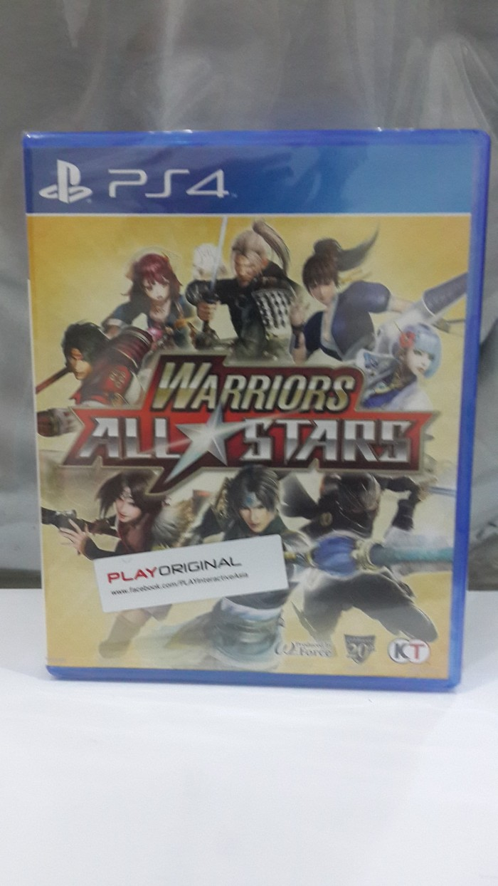 Jual PS4 Warriors All Stars Region 3 Kota Bandung Golden Games & Movies
