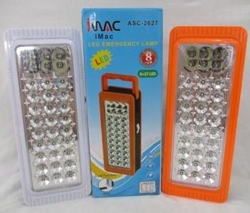 harga Imac asc-2627 lampu lamp led darurat emergency long life 8 jam 2 mode Tokopedia.com