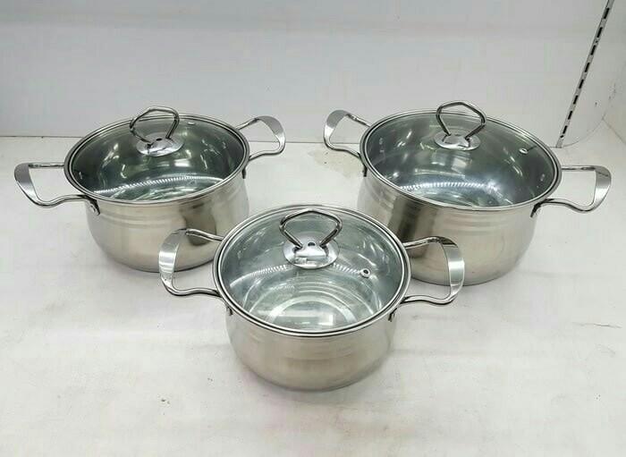 harga Panci weston cookware set Tokopedia.com