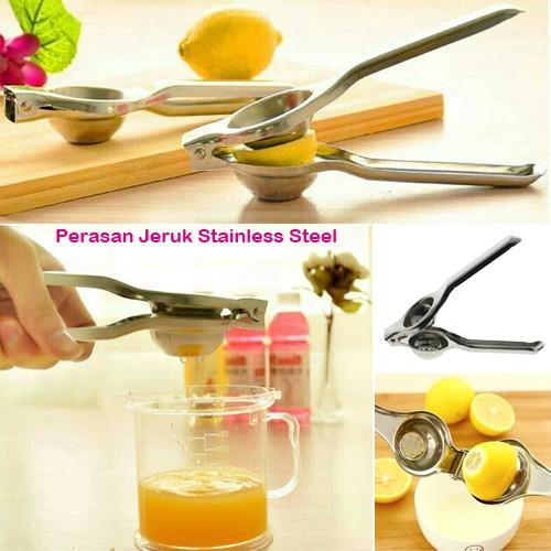 harga Pemeras perasan jeruk lemon nipis stainless steel alat dapur kitchen o Tokopedia.com