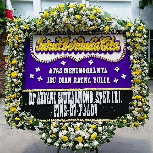 Jual Karangan Bunga Duka Cita Jakarta Timur Berkahflorist Tokopedia