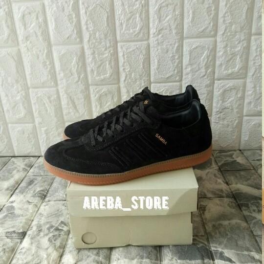 531abc92396a spain sepatu adidas adidas samba consortium deep hue pack black sole gum  e9462 07392
