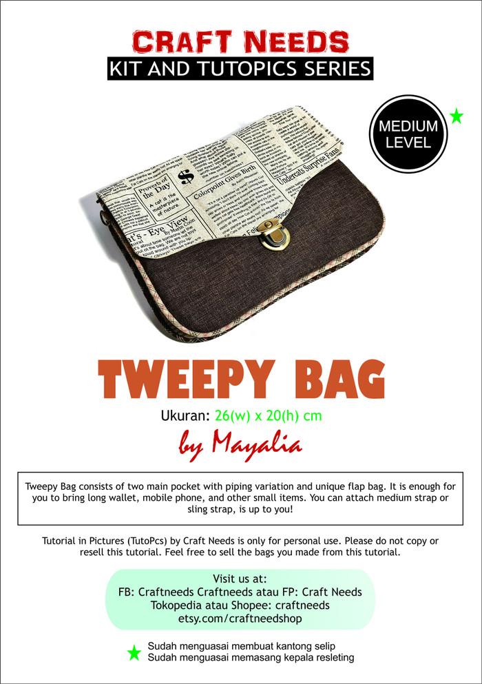 Jual Tutopics Tweepy Bag - Kota Bekasi - Craft Needs | Tokopedia