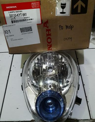 Reflektor/Lampu Depan Honda Scoopy Karbu Asli