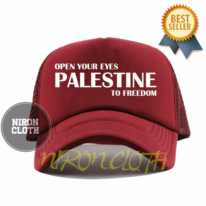 PALESTINE TO FREEDOM TOPI TRUCKER PRIA CL02 - MARUN - SB
