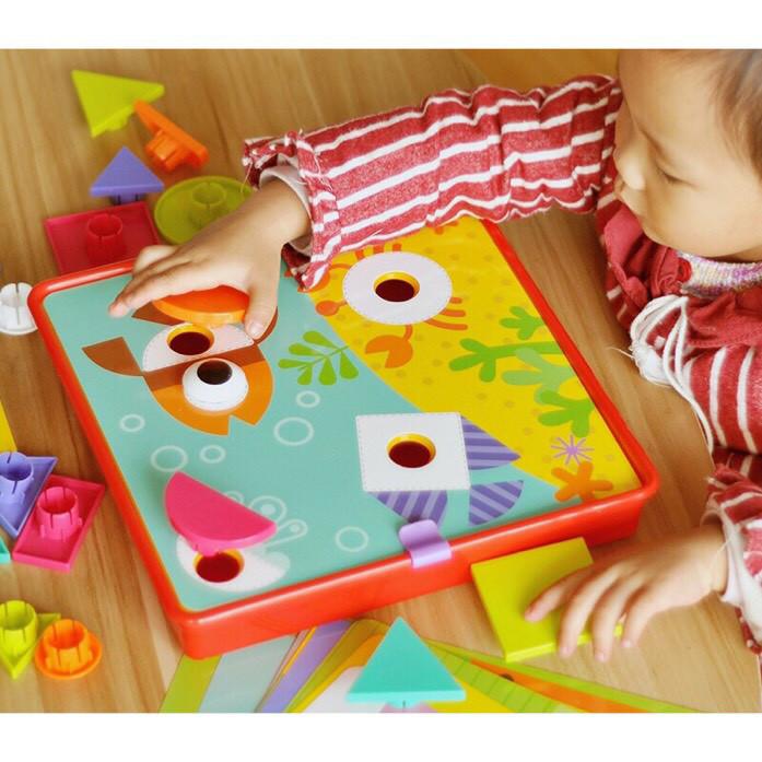 Mainan anak edukasi Creative Geometry .