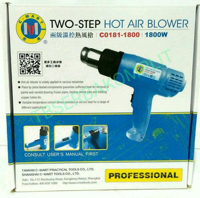 Heat hot Air gun 1800W watt blower pemanas 550 C C-mart cmart Taiwan