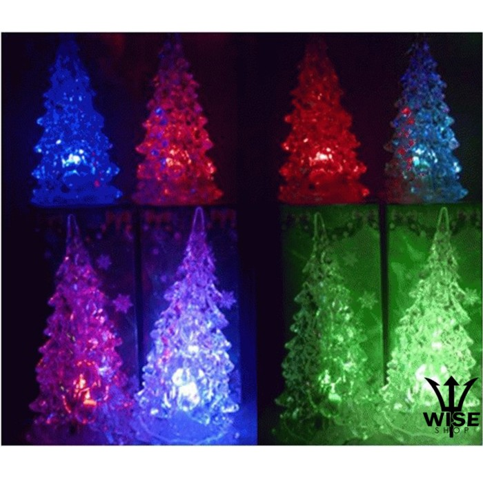 harga Pohon natal lampu acrylic christmas dekorasi kado natal aksesoris Tokopedia.com