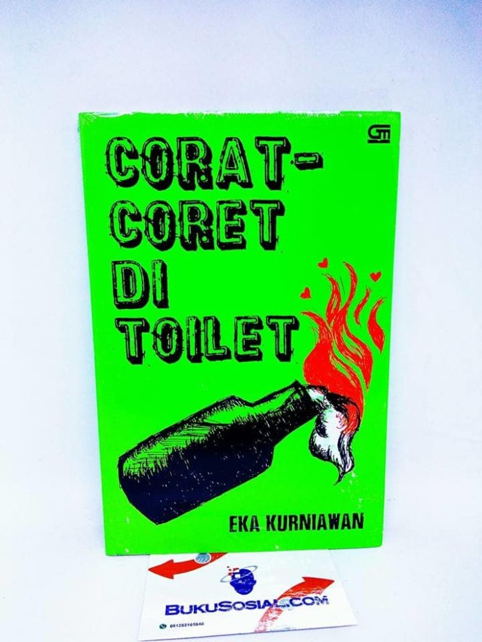 Foto Produk Corat - Coret Di Toilet - Eka Kurniawan - dari Buku Sosial
