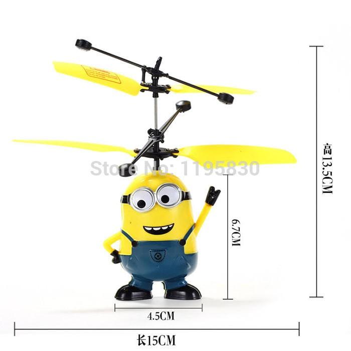 asli murah Drone Minion / Flying Toy Sensor / Heli Sensor