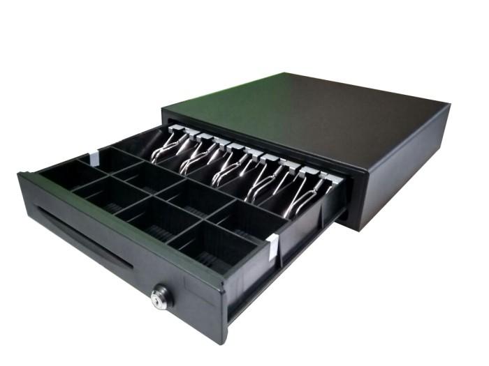 Foto Produk Laci Kasir Mini / Cash Drawer Mini Laci Kasir POS (RJ11) / Laci Uang dari Alat POS Kasir