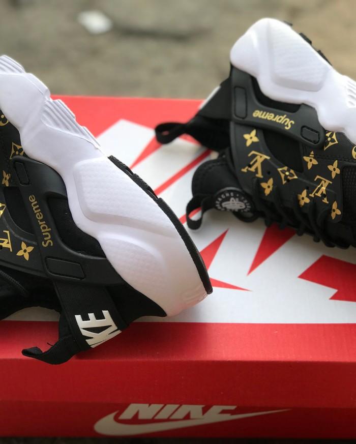 ... Nike Huarache x Lv x Supreme - Nike Huarache Supreme Pria LV pria ...