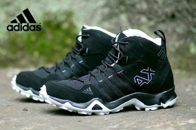 Jual Free Bonus Sepatu Murah Sneakers Adidas Ax2 High Impor