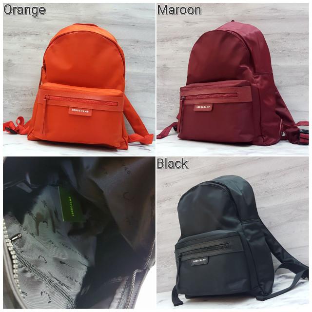 harga Longchamp / long champ backpack unisex / tas ransel kuliah / kerja Tokopedia.com
