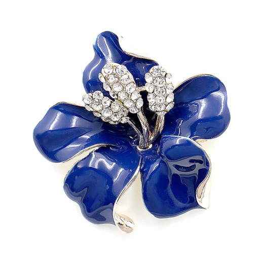 Cincin ring jilbab bunga sepatu biru harga Cincin ring jilbab bunga sepatu  biru Tokopedia.com b4c9ddc804