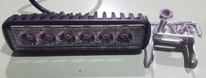 harga Lampu tembak sorot motor led bar cree 6 titik sisi sorot kabut offroad Tokopedia.com