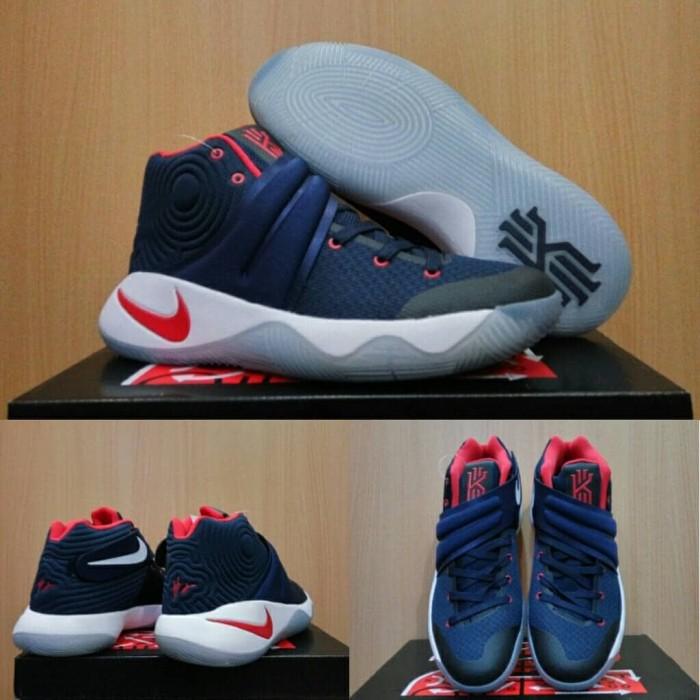 Jual StoreTokopedia Kyrie Batam Usa Kota Blue Dongker Elite Basketball 2 Navy White Sepatu Nike Putih Biru Basket cKJlF1