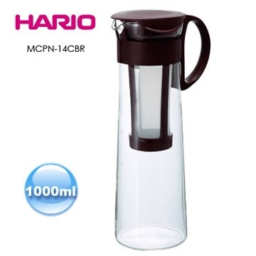 harga Hario mizudashi cold brew glass coffee & tea pot brown (mcpn-14cbr) 1l Tokopedia.com