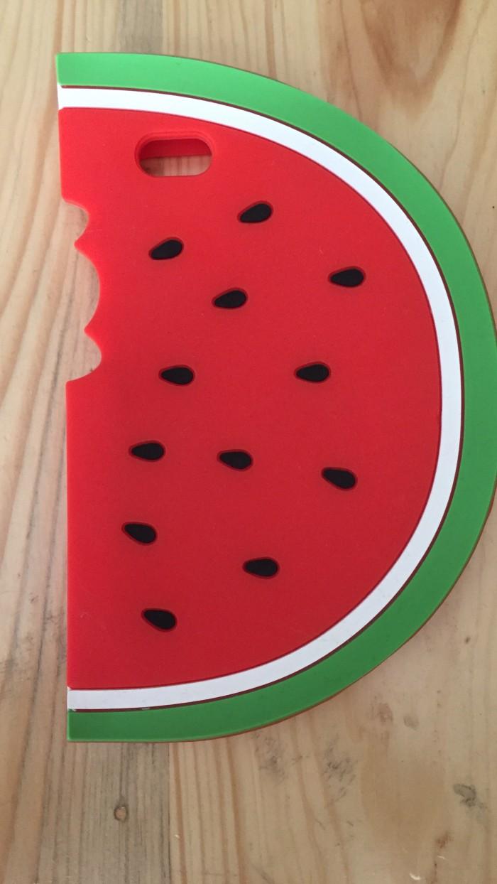 Jual Iphone 6 6s Case Water Melon Semangka Unik Softcase Silicon Rubber Kota Bekasi Import Maniac
