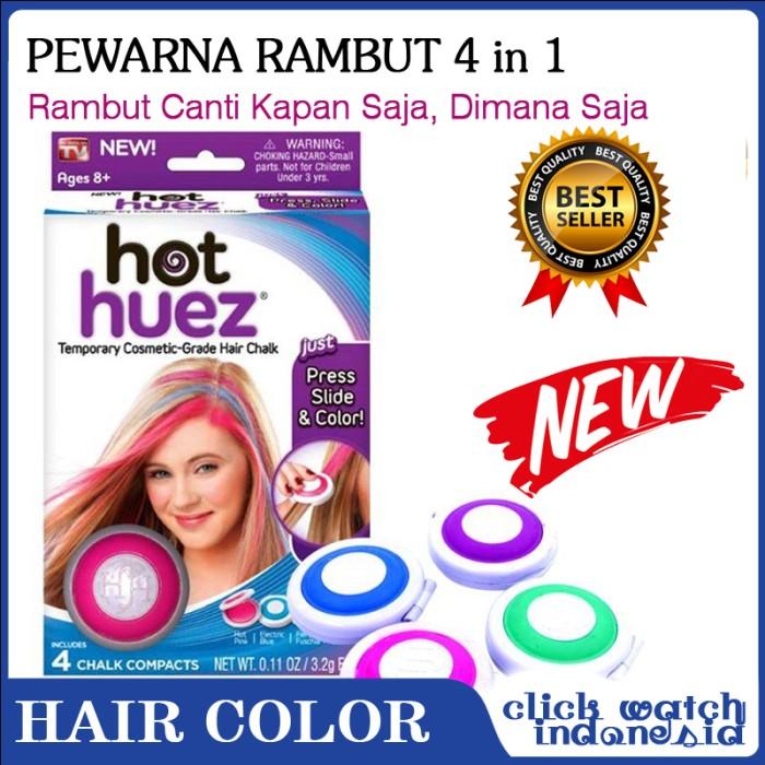 Pewarna Rambut 4 in 1 Hot Huez Temporary Hair Chalk GC178 98c16637de