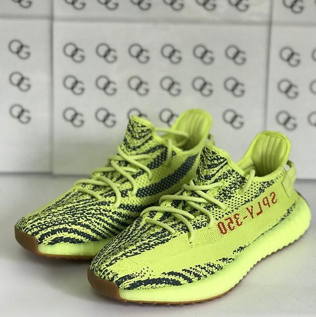 Jual adidas Yeezy Boost 350 V2 Semi Frozen Yellow . DKI Jakarta True OG Kicks OS   Tokopedia