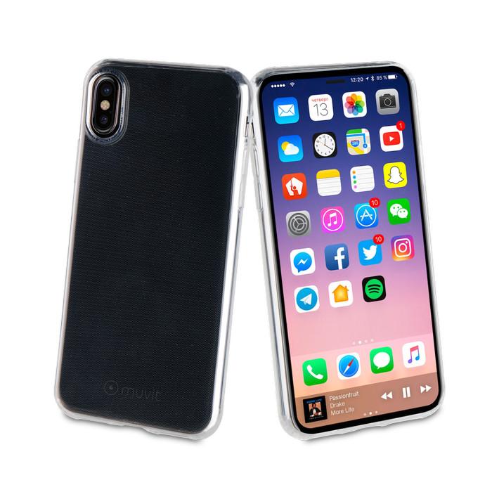 Jual Muvit Iphone X Crystal Soft – Transparent Harga Promo Terbaru