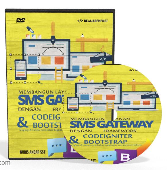Foto Produk MEMBANGUN LAYANAN SMS ONLINE BERBASIS CLIENT SERVER dari tutorial pemograman