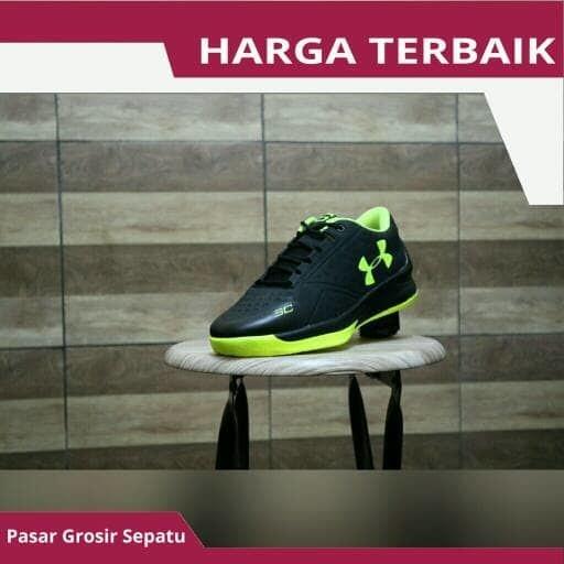 Promo Sepatu Basket Under Armour Running Olahraga Joging Lari Pria La 901558c54b