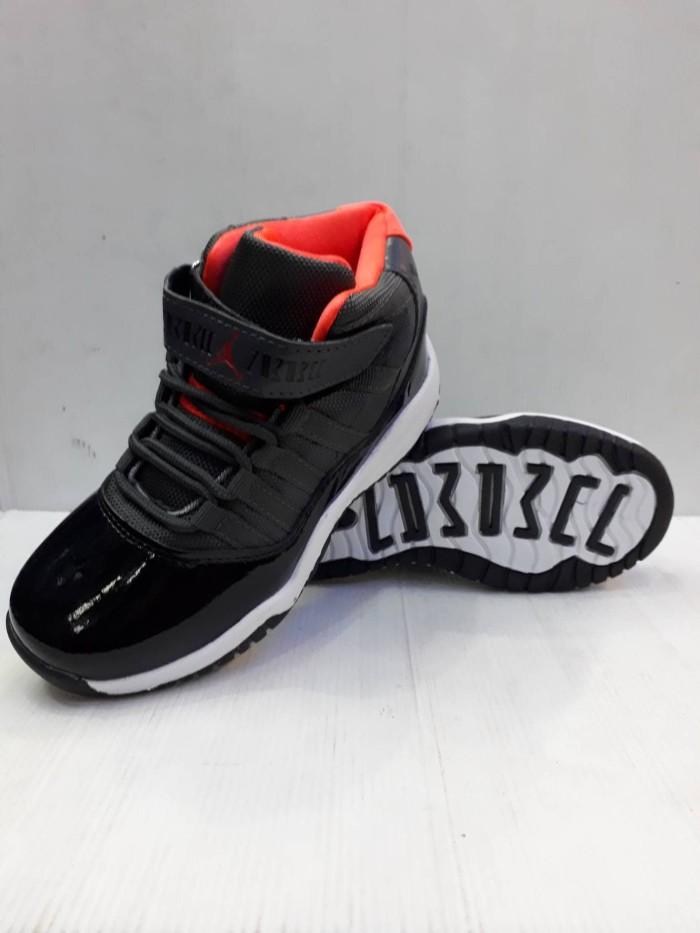 ... harga Sepatu anak nike air jordan 11 high import kids sekolah kets  sneakers Tokopedia.com 248a448804