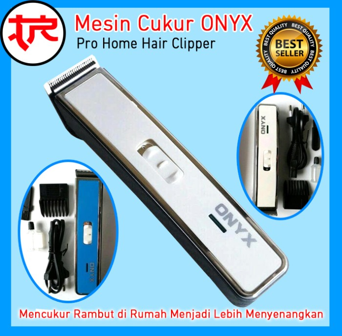 Jual Mesin Cukur Onyx OX Alat Cukur Rambut Hair Clipper Hair Trimmer ... 2e10509ee9