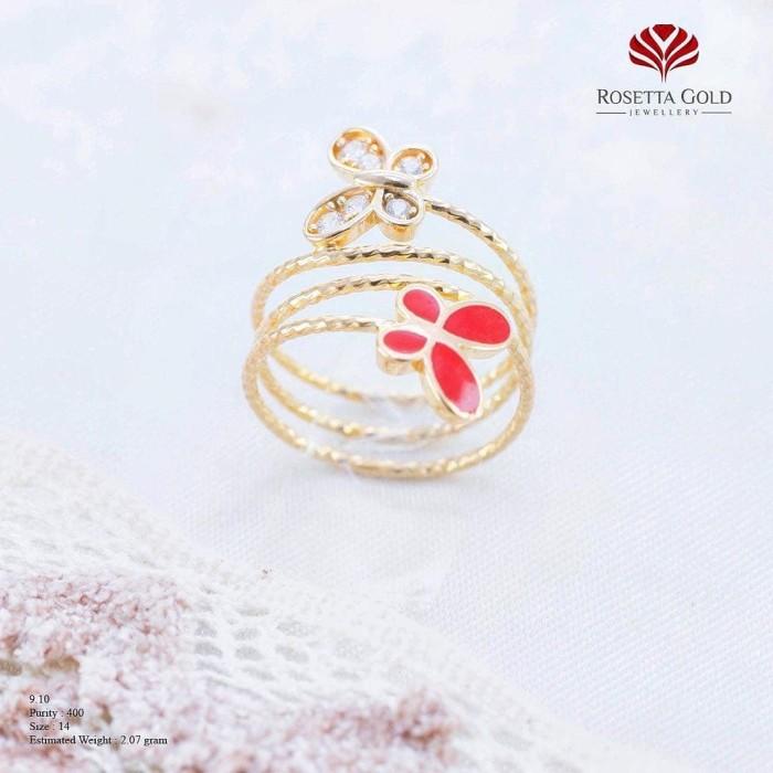 harga Cincin emas wanita mpst00802964 Tokopedia.com