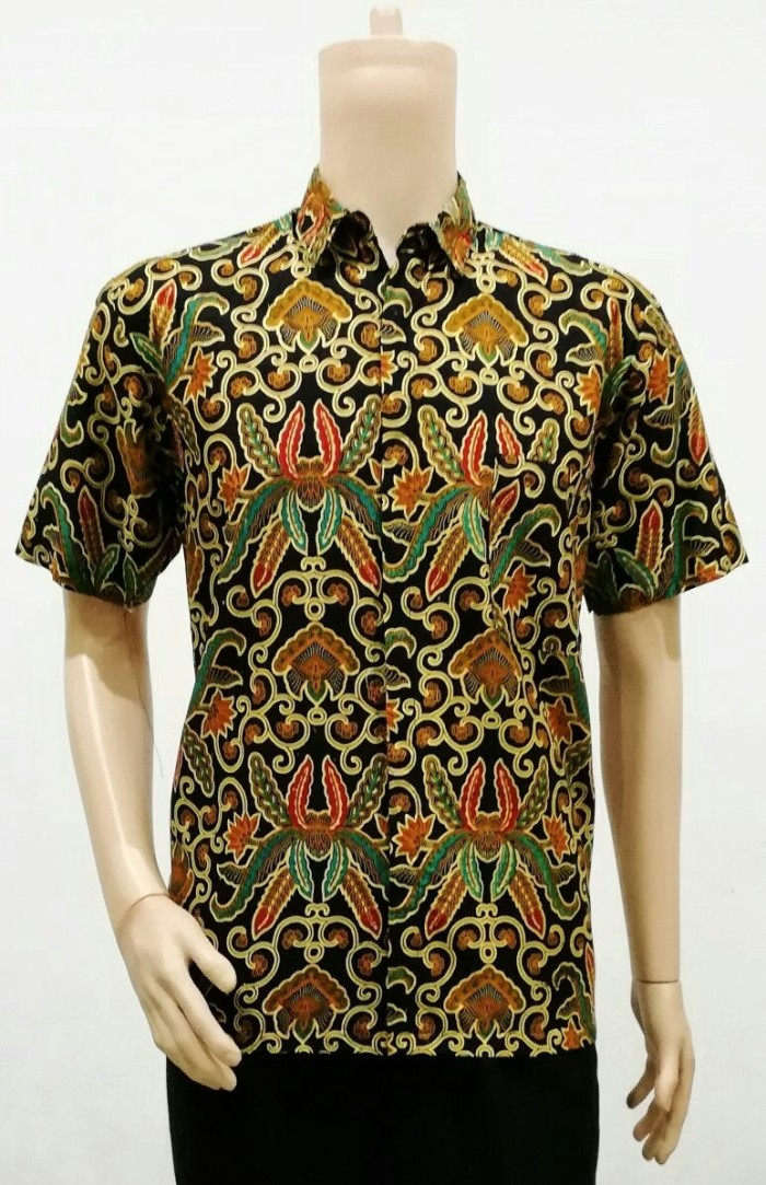 harga Kemeja batik klasik - hem / dress / rok blus / baju pria batik solo Tokopedia.com
