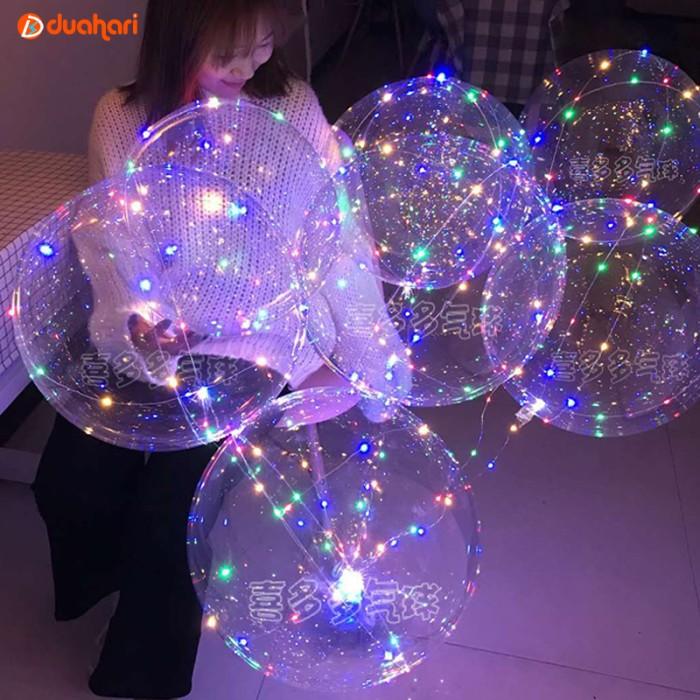LED Balon Dekorasi Balon Pesta LED Lampu Tumblr Balon Helium