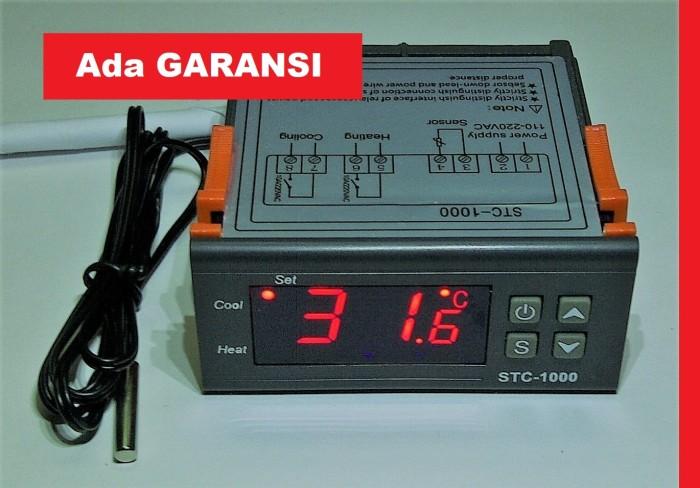 harga Thermostat/termostat temperatur mesin tetas/penetas telur digital 220v Tokopedia.com