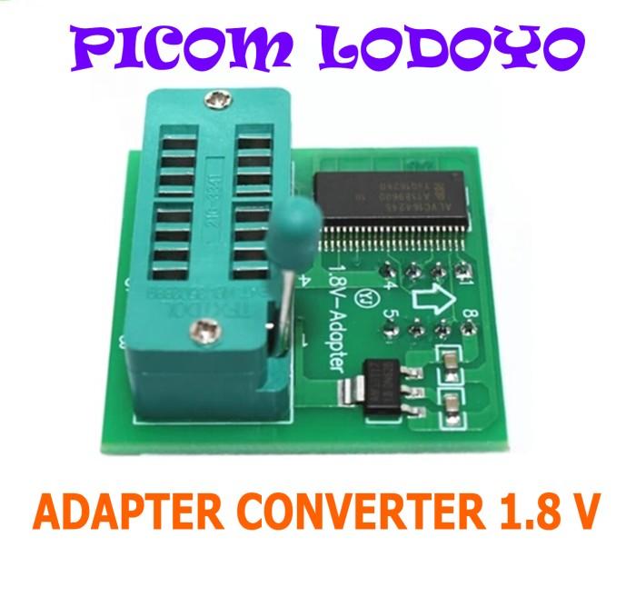 Foto Produk SOKET SOCKET ADAPTER CONVERTER 1.8V 1.8 V FLASH BIOS dari PICOM LODOYO