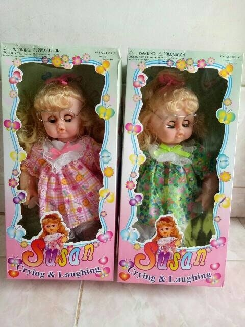harga Boneka suzan bisa menangis dan tertawa Tokopedia.com