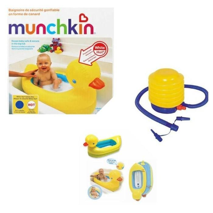 Bak Mandi Bayi Indikator Air Panas Munchkin Baby Bathub Kolam Bebek