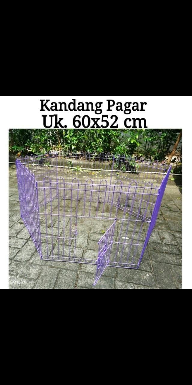 harga Kandang pagar 60 x 52 cm - kandang hewan anjing kucing Tokopedia.com