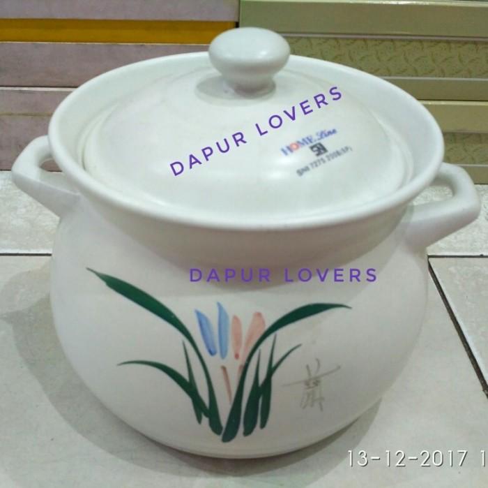harga [gosend grab] panci keramik (untuk jamu godog / ramuan obat cina) Tokopedia.com