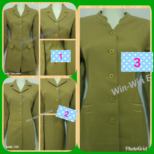 Model Baju Pdh Pns Wanita Model Baju Terbaru 2019