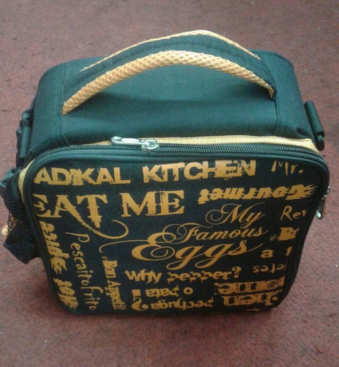 harga Lunch cooler bag black soleil Tokopedia.com