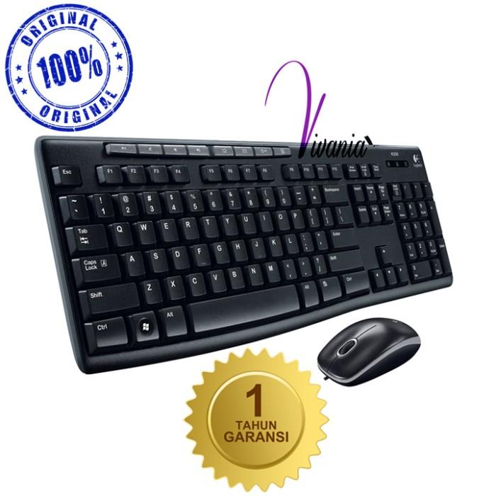 Logitech keyboard + mouse mk270r wireless usb original